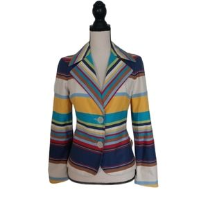 Missoni Striped Cotton Blazer
